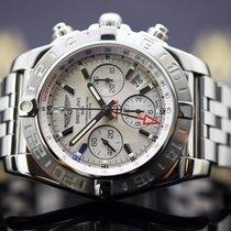 Breitling Chronomat 44 GMT Acero 44mm Blanco