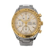 Omega Speedmaster Date Gold/Steel 40mm United States of America, Florida, Hallandale Beach