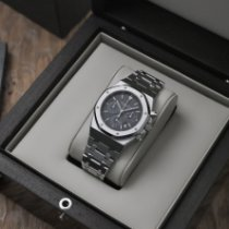 Audemars Piguet Royal Oak Chronograph Acier 39mm Noir France, Paris