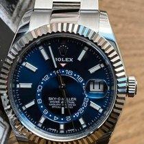 Rolex Sky-Dweller Acier 42mm Bleu Sans chiffres France, GRADIGAN