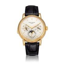 Patek Philippe Minute Repeater Perpetual Calendar Желтое золото 36mm Cеребро