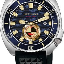 Nethuns new Small seconds Only Original Parts 44mm Steel Sapphire crystal