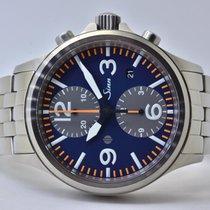 Sinn 756 / 757 Steel 40mm Blue Arabic numerals