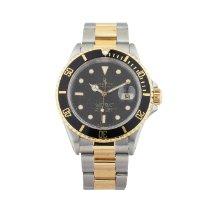 Rolex Submariner Date 16613 Sehr gut Gold/Stahl 40mm Automatik
