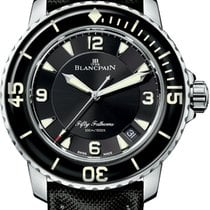 Blancpain Steel 45mm Automatic 5015-1130-52 new United States of America, New York, New York City