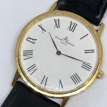 Baume & Mercier Yellow gold Quartz White Roman numerals 32mm pre-owned Classima