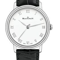 Blancpain Villeret Ultra-Slim Steel 29,2mm White Roman numerals United States of America, New York, New York City