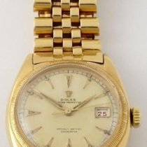 Rolex Bubble Back Yellow gold 36mm White No numerals United States of America, Texas, Houston