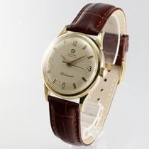 Omega Globemaster pre-owned 34mm Silver Leather