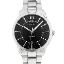 Maurice Lacroix Pontos Day Date Steel 41mm