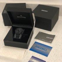 Seiko Titanium Automatic Black 44.8mm new Prospex