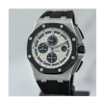Audemars Piguet Royal Oak Offshore Chronograph Сталь 44mm Cеребро Без цифр