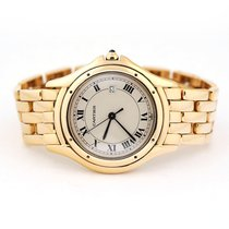 Cartier Cougar Yellow gold 33mm White United States of America, Florida, Aventura