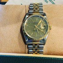 Rolex Datejust usato 36mm Oro Data Oro/acciaio