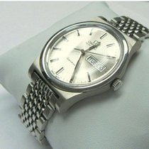 Omega Genève Steel 36mm Silver No numerals United States of America, Florida, Gainesville