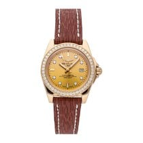 Breitling Rose gold Quartz Gold No numerals 32mm pre-owned Galactic 32
