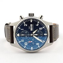IWC Pilot Chronograph new 2021 Automatic Chronograph Watch with original box and original papers IW377714
