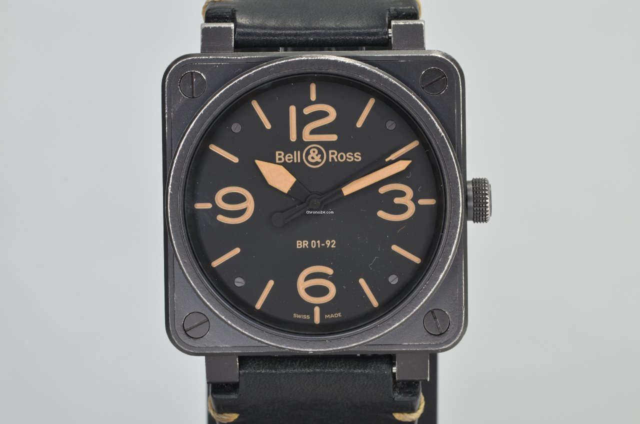 Bell & Ross BR 01-92 BR0192-HERITAGE pre-owned