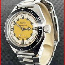 Vostok Steel Manual winding Yellow No numerals 39mm pre-owned
