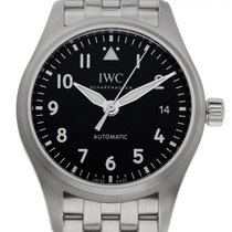 IWC Pilot's Watch Automatic 36 Steel 36mm Black Arabic numerals
