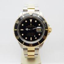 Rolex Submariner Date usato 40mm Nero Data Oro/acciaio