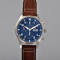 IWC Pilot Chronograph Steel 43mm Blue