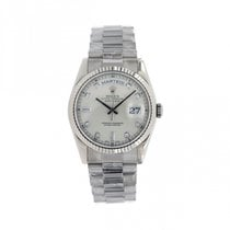 Rolex Day-Date 36 118239 Very good White gold 36mm Automatic