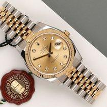 Rolex Datejust 116233 Très bon Or/Acier 36mm Remontage automatique
