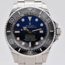 Rolex Sea-Dweller Deepsea Сталь 44mm Синий Без цифр