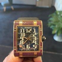 Richard Mille RM 016 Rose gold Transparent Arabic numerals