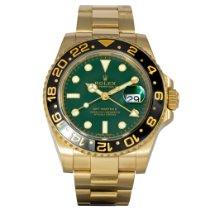 Rolex GMT-Master II 116718LN Muy bueno Oro amarillo 40mm Automático
