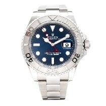 Rolex Yacht-Master 40 Platinum 40mm Blue