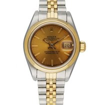 Rolex Oyster Perpetual Lady Date Steel 26mm Champagne United States of America, New York, New York