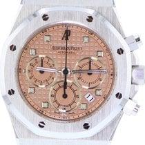 Audemars Piguet Royal Oak Chronograph White gold Pink