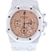 Audemars Piguet Royal Oak Chronograph Oro blanco Rosa