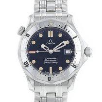 Omega Seamaster Diver 300 M Acier 35mm Bleu France, Paris