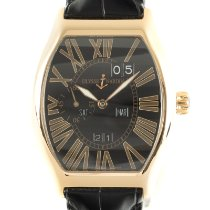 Ulysse Nardin Red gold Automatic Black 43mm pre-owned Michelangelo