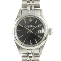 Rolex Oyster Perpetual Lady Date Steel 26mm Black