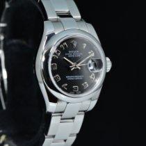 Rolex Lady-Datejust Acciaio 26mm Nero Arabi Italia, Milano