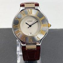 Cartier 21 Must de Cartier Gold/Stahl 37mm Weiß Deutschland, Heinsberg