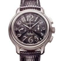 Zenith El Primero Chronomaster Lady Steel 37.5mm Black Arabic numerals