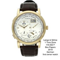 A. Lange & Söhne Rose gold 41.9mm Manual winding 116.032 pre-owned