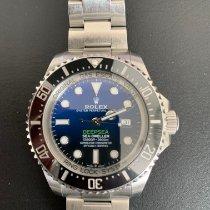 Rolex Sea-Dweller Deepsea Acier 44mm Bleu Sans chiffres Belgique, Drongen