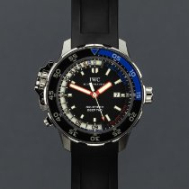 IWC Aquatimer Deep Two Acero 46mm Negro Sin cifras