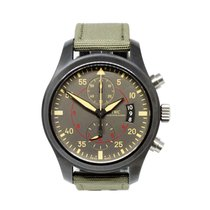 IWC Pilot Chronograph Top Gun Miramar IW388002 Unworn Ceramic 46mm Automatic