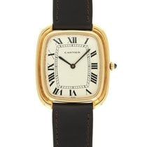 Cartier Tank (submodel) Yellow gold 34mm Champagne United States of America, California, Beverly Hills