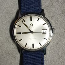 Omega Genève Steel 32mm Silver No numerals