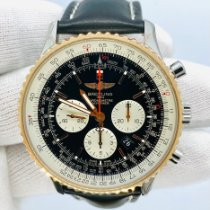 Breitling Navitimer 01 (46 MM) pre-owned 46mm Black Chronograph Date Leather