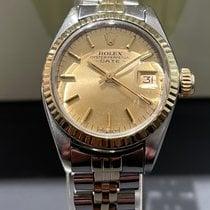 Rolex Lady-Datejust Золото/Cталь 26mm Золотой Без цифр