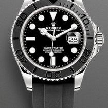 Rolex Yacht-Master 42 White gold 42mm Black No numerals United States of America, New York, Brooklyn